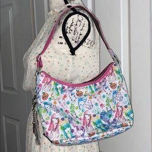 Tokidoki Nobile Watercolour Hobo Shoulder Bag